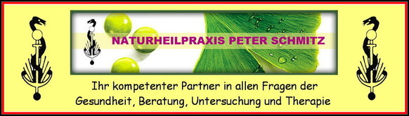 Startseite der Naturheilpraxis Peter Schmitz