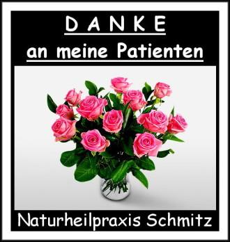 Einen Blumenstrauß voller guter Wünsche an meine Patienten