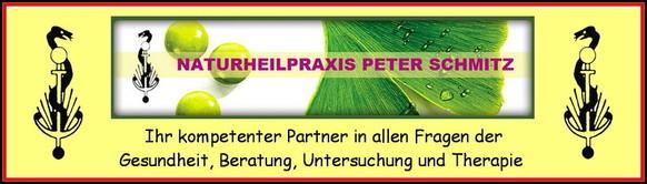 Leistungen-Seite der Naturheilpraxis Peter Schmitz